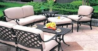 Black Cast Aluminum Patio Furniture Black Patio Dining Sets Black Aluminum Outdoor Dining Chairs Black