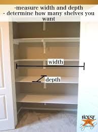 creative of easy closet shelves best 25 build a closet ideas on