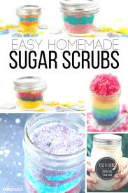 Easy Homemade Christmas Gifts by 25 Best Homemade Sugar Scrubs Ideas On Pinterest Homemade Body