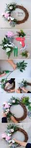 Spring Decorating Ideas For Your Front Door Diy Spring Wreath Diy Spring Wreath Diy Design And Huckleberry