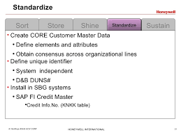 Master Data Management Resume Samples by Lean Master Data Management