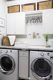 Laundry Room Clothes Rod One Room Challenge Week 6 Laundry Room Reveal Laundry Clutter