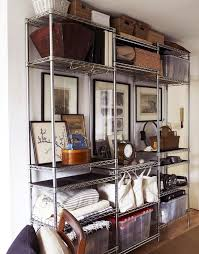 How To Organize Bookshelf 7 Ways To Organize Using Wire Shelving Metro Shelves Used For