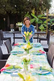 Dillards Outdoor Furniture Sigrid Olsen Dillard U0027s Styled Dinner Party Siesta Key Florida