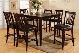 Awesome High Dining Table Sets On Dining Room Table And Chairs Set - High kitchen tables and chairs