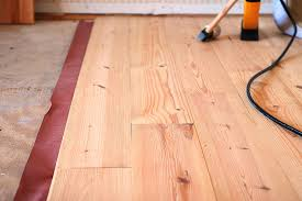 how is it to install hardwood floors yourself home flooring