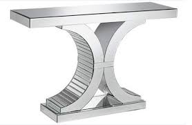 Venetian Console Table Beautiful Venetian Mirrored Console Table With Contemporary