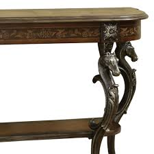 Demilune Console Table Powell Masterpiece Floral Demilune Console Table W Horse Head