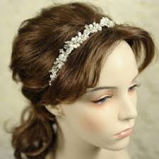 wedding headbands wedding headband rhinestone flowers gardening flower and vegetables
