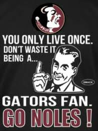 Florida Gator Memes - that truth tho noles4life pinterest florida state university