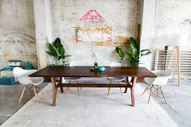 danish modern dining room furniture mid century modern dining tables furniture and decor custommade