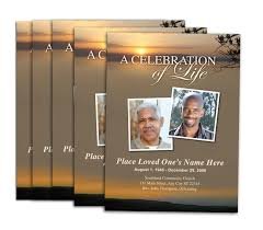 funeral booklets large tabloid programs booklets professional printing services