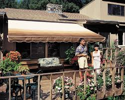 Vista Awnings Sunsetter Awnings Retractable Deck And Patio Awning