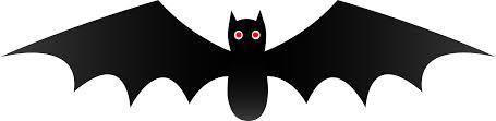 cute black halloween bat free clip art