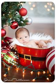 Baby S First Christmas Decoration For Christmas Tree by 15 More Christmas Picture Ideas With Babies Capturing Joy With