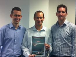 nissan australia head office brisbane data 3 wins it category in 2013 nissan corporate triathlon data3