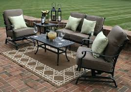 small patio furniture sets black wicker patio furniture sets with