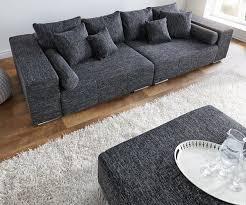 sofa mã bel wohnzimmerz bigsofa with bigsofa marbeyacm schwarz mit
