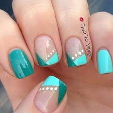 32 easy nail designs with two colors picsrelevant