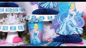 Diy Birthday Party Theme Ideas Beautiful Cinderella Birthday Party Decorations Ideas Youtube