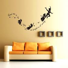 wall ideas peter pan bedroom wall stickers wall art stickers wall art stickers peter pan shadow peter pan wall art stickers peter pan second star wall sticker diy kids bedroom nursery vinyl decal decor boys and girls