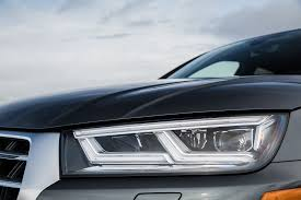 Audi Q5 Headlight - 2018 audi sq5 first drive review automobile magazine