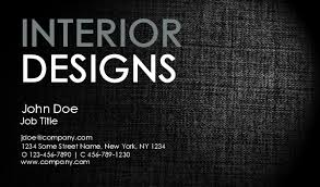 Interior Design Business Cards by Interior Design Business Cards