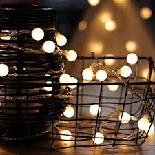 low voltage led string lights amazon com led string lights by mycozylite plug in string lights