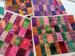 Quilted Rugs Exuberant Color September 2013