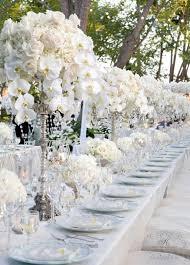 Wedding Reception Decoration Ideas White And Silver Wedding Theme Weddings Romantique