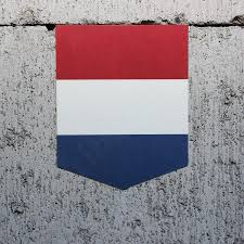 Hollanda Flag Flag Of The Netherlands Car Sticker 2