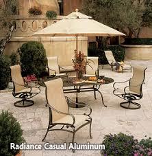 Tropitone Patio Table Aluminum Patio Furniture Raleigh Nc Casual Aluminum Outdoor