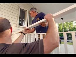How to Build a Porch Rail  YouTube