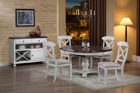 White Dining Room Sets Dining Room Glamorous Round White Dining Room Table Round White