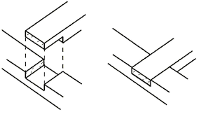 Wood Joints Diagrams by Timber Joints Simple Joints For Frame Construction