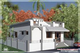 style single floor house in 1092 sqfeet kerala house design