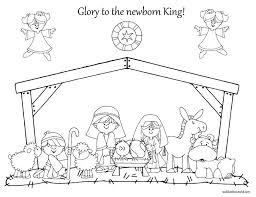 nativity color pages 100 images coloring pages coloring baby