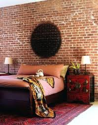 Bedroom Walls Design From Brick Effect Wallpaper Bedroom Ideas Mad About Expose Walls