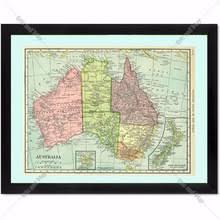 Vintage Home Decor Australia Popular Australia Maps Buy Cheap Australia Maps Lots From China