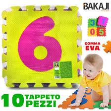 tappeti puzzle per bambini atossici tappeto per bambini da pavimento 10 pz puzzle neonato antiurto