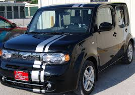 honda cube nissan cube offset rally stripes