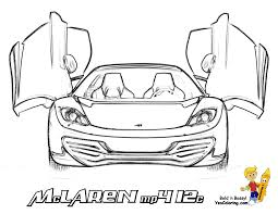 exotic car coloring pages eson me