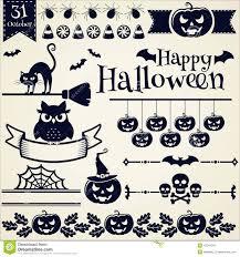 Halloween Vector Images Halloween Vector Elements Royalty Free Stock Photo Image 10712845