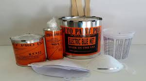auto paint acrylic enamel clear coat kit 75 00 youtube