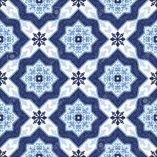 portuguese azulejo tiles blue and white gorgeous seamless