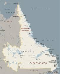 Newfoundland Map Labrador Map Listings Canada