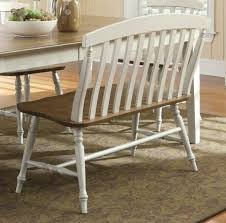 furniture grey upholstered curved bench with round table and with