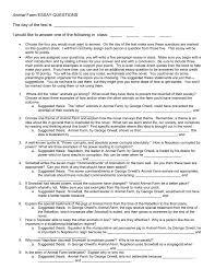 farm essay question