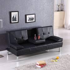 Modern Black Sofas Sofa Beds Ebay
