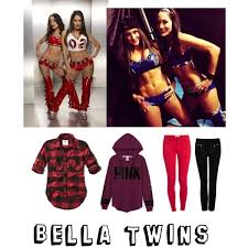 Bella Twins Halloween Costume Bella Twins Brie Mode Fearless Nikki Bella Polyvore